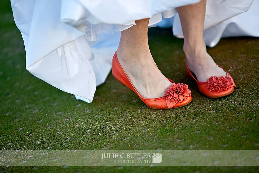 Love The Bright Shoes For Bride