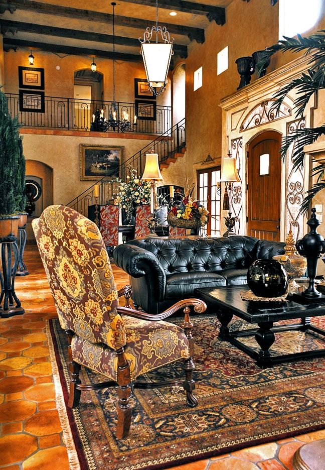Tuscan Decor Colors | Tuscany Interior Decor, Tuscan Style Decorating,  Tuscan Bedroom Design .