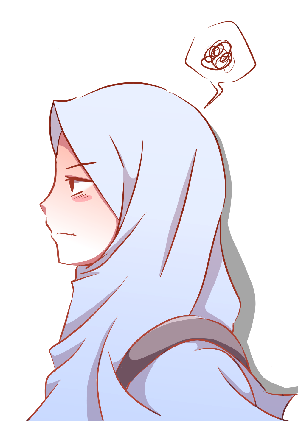 Pin Oleh Nahla Fatima Adinda Di Muslimah