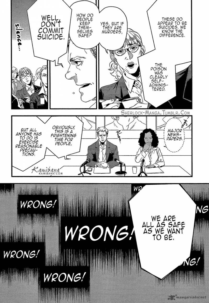 Read Sherlock Holmes Manga Online