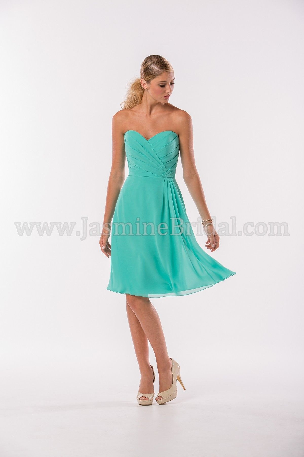 Jasmine Bridal Bridesmaid Dress Jasmine Bridesmaids Style P186012K ...