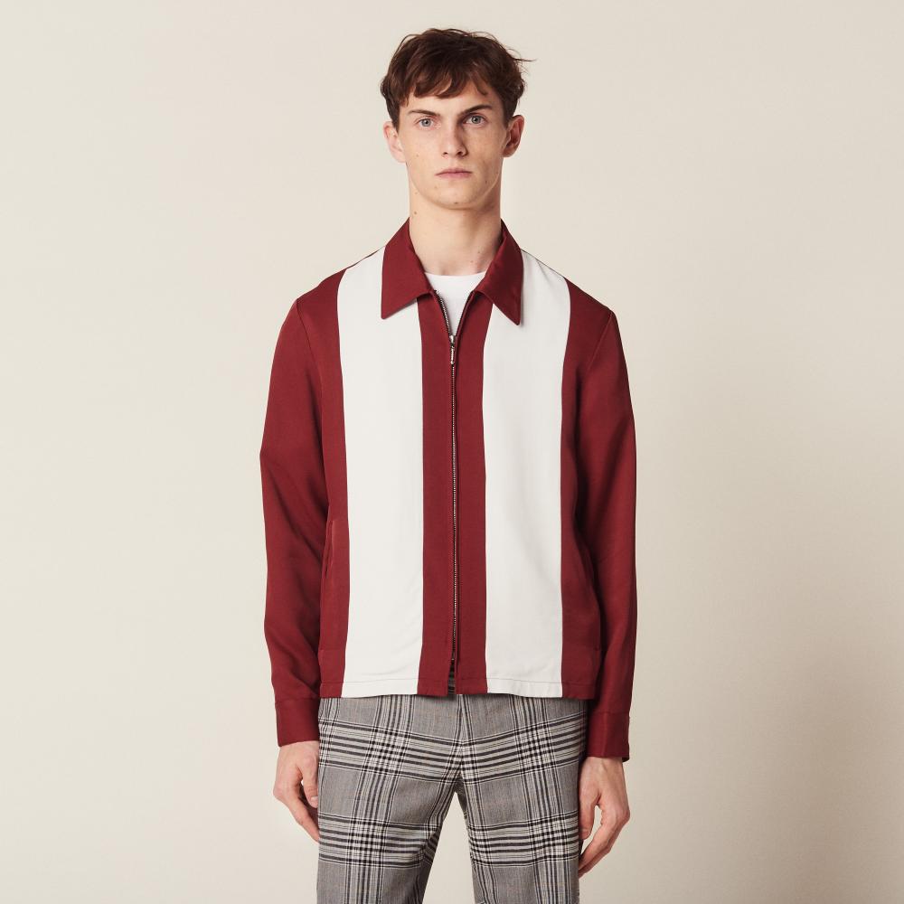Flowing Zipped Jacket Jackets | Sandro Paris | Jacket