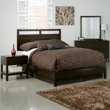 Comes In White Too Linear Bedroom Collection Found At Jcpenney