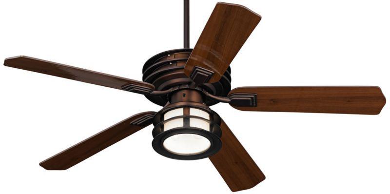 """Casa Vieja Mission II Outdoor Ceiling Fan - 52"""" Bronze ..."""