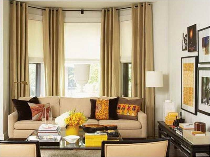 41 Stunning Simple Living Room Curtain Ideas That Will ...