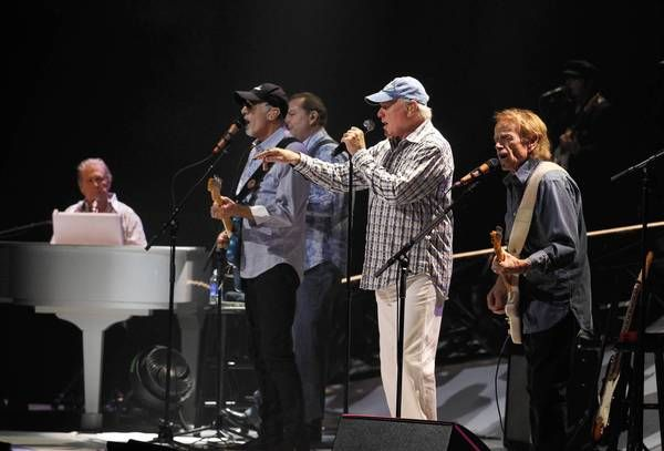 """The Beach Boys are the only group I have seen in concert four times -- in 1973, '74 and '75 in the D.C. area and in 2010 at the Los Angeles County Fair. Amazing the last time to see kids whose parents weren't even born when the Boys started recording every bit as excited as anyone else.  Still, it's like I wrote in 1987 as one of the items in a newspaper column, """"You know you're getting old when you remember when the Beach Boys were actually boys."""
