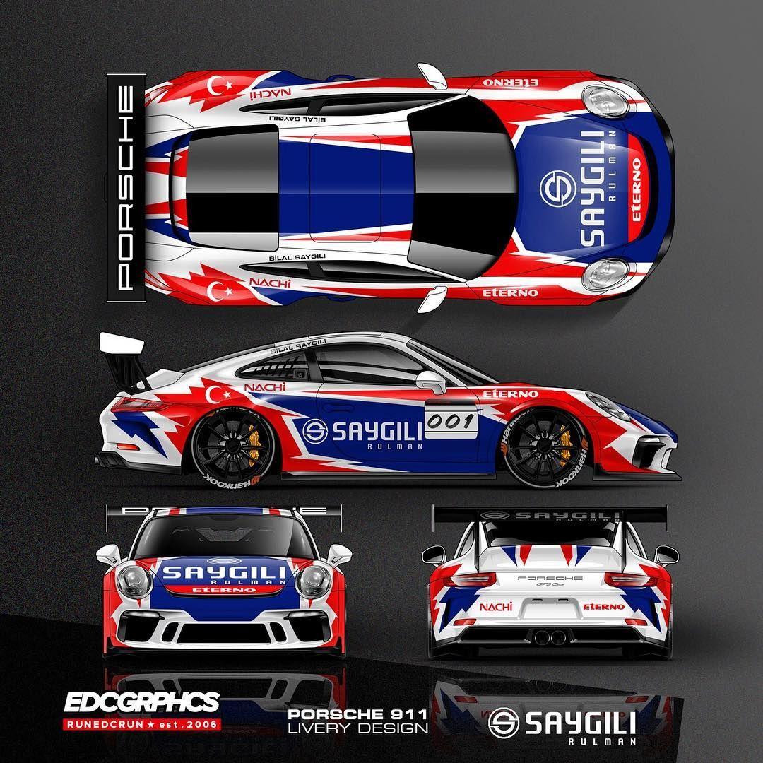 Saygilirulman Porsche Super Sports Cup Liverydesign Edcgrphs Porsche911 Porschesupercup Liverydesigner Racecar Ra Racing Car Design Porsche Race Cars