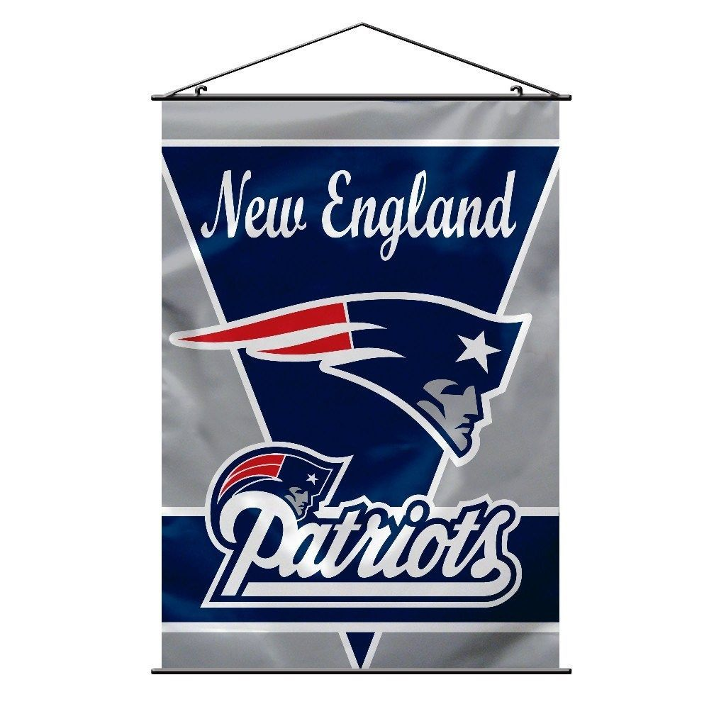 New England Patriots Wall Banner Nfl Multi Color Newenglandpatriots New England Patriots New England Patriots Colors England Patriots
