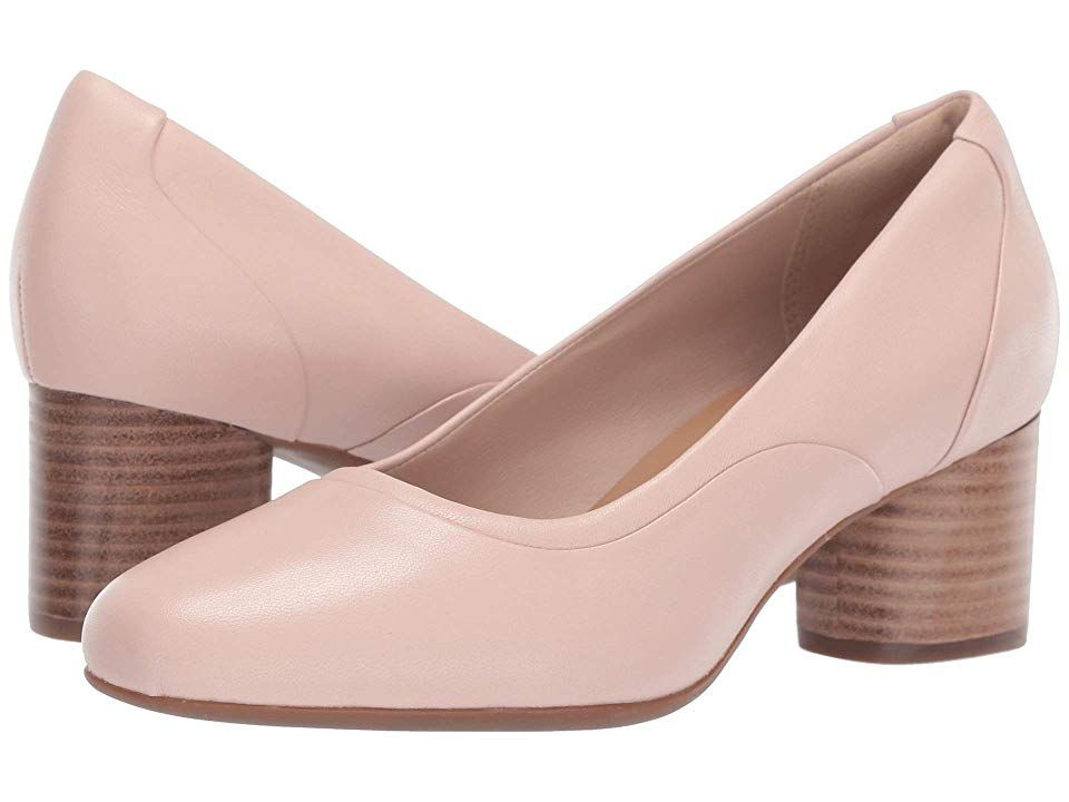 77bc347c66a08 Clarks Un Cosmo Step Women's Shoes Nude Leather | Products in 2019 ...