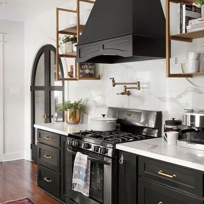 30 Brilliant Kitchen Island Ideas That Make A Statement: 35+ Black Kitchen Cabinets Modern Can Be Fun For Everyone