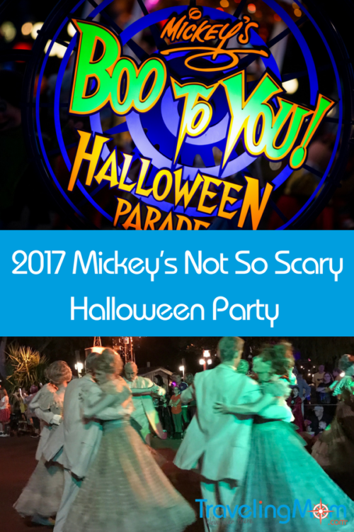 Mickey's Not So Scary 2017 Halloween Party Dates | Fun events ...