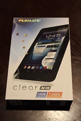 Filemate Clear X4 TABLET 16gb 1.5GHz 3FMT750NV-16G-R PC Android 7'' https://t.co/hBNnYaFDH1 https://t.co/wGR1f7D0t3