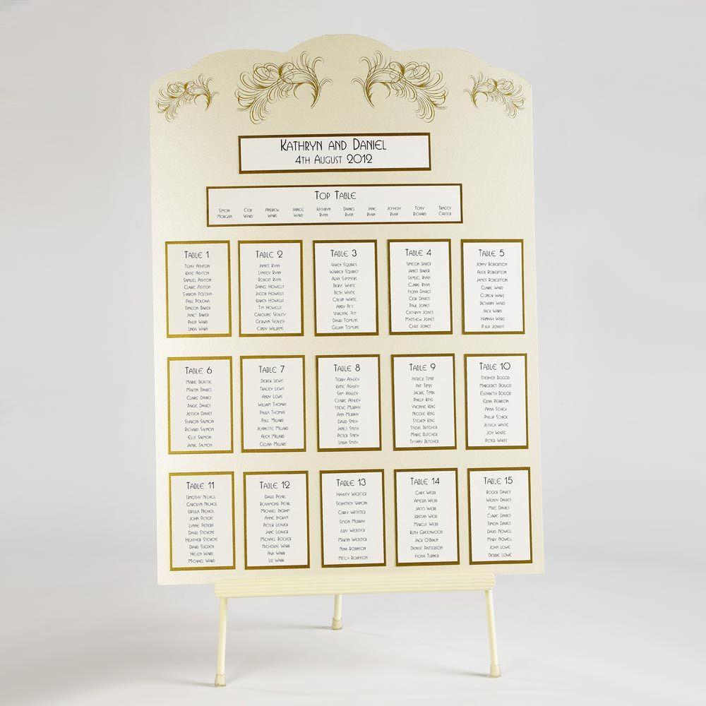 Charleston affair table planner kit a size wedding planning