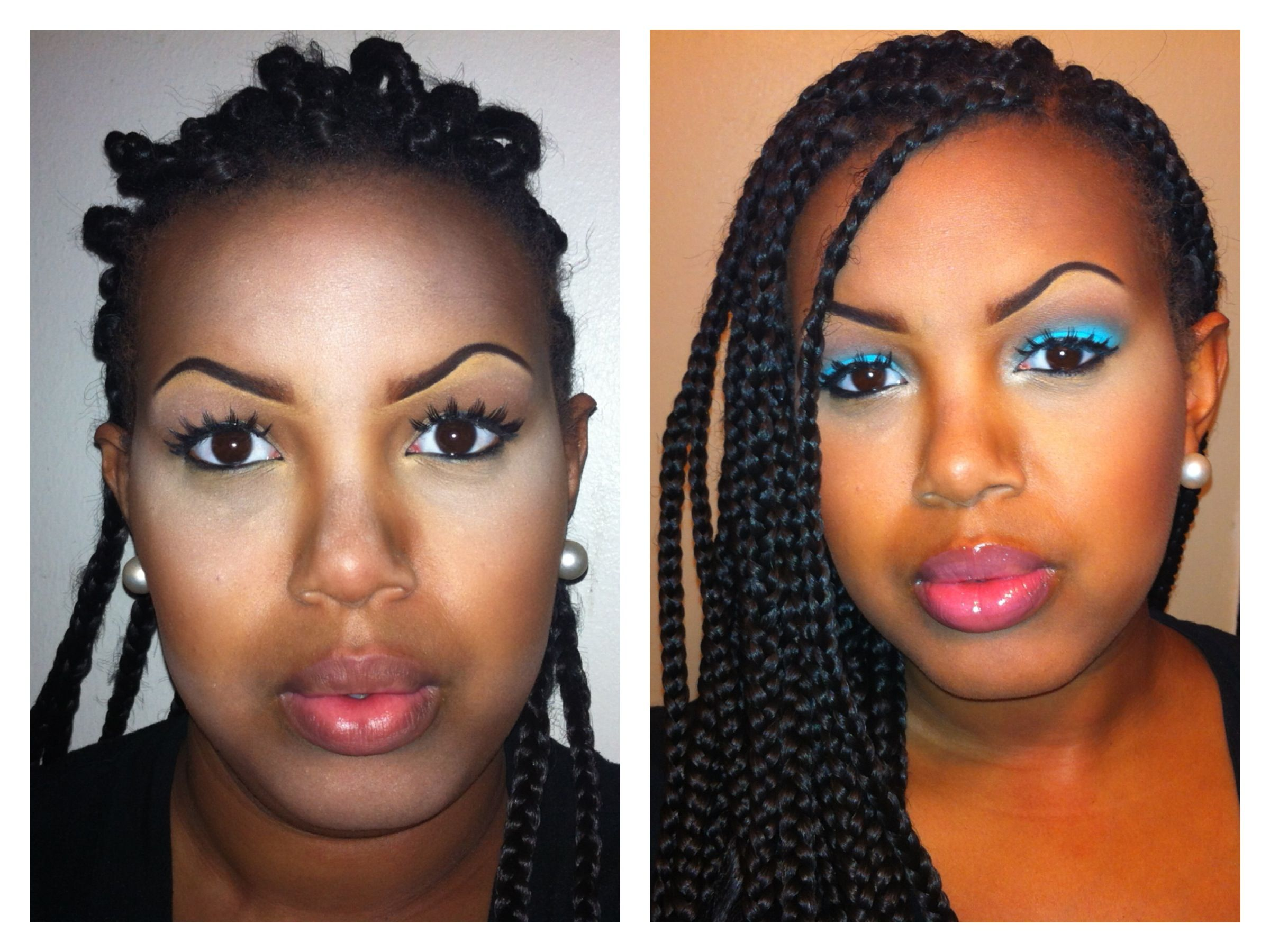 8 best Highlights and Contouring for Black Women images on Pinterest