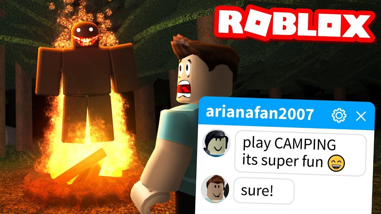 My Fans Tricked Me Into Playing This Roblox Game Camping