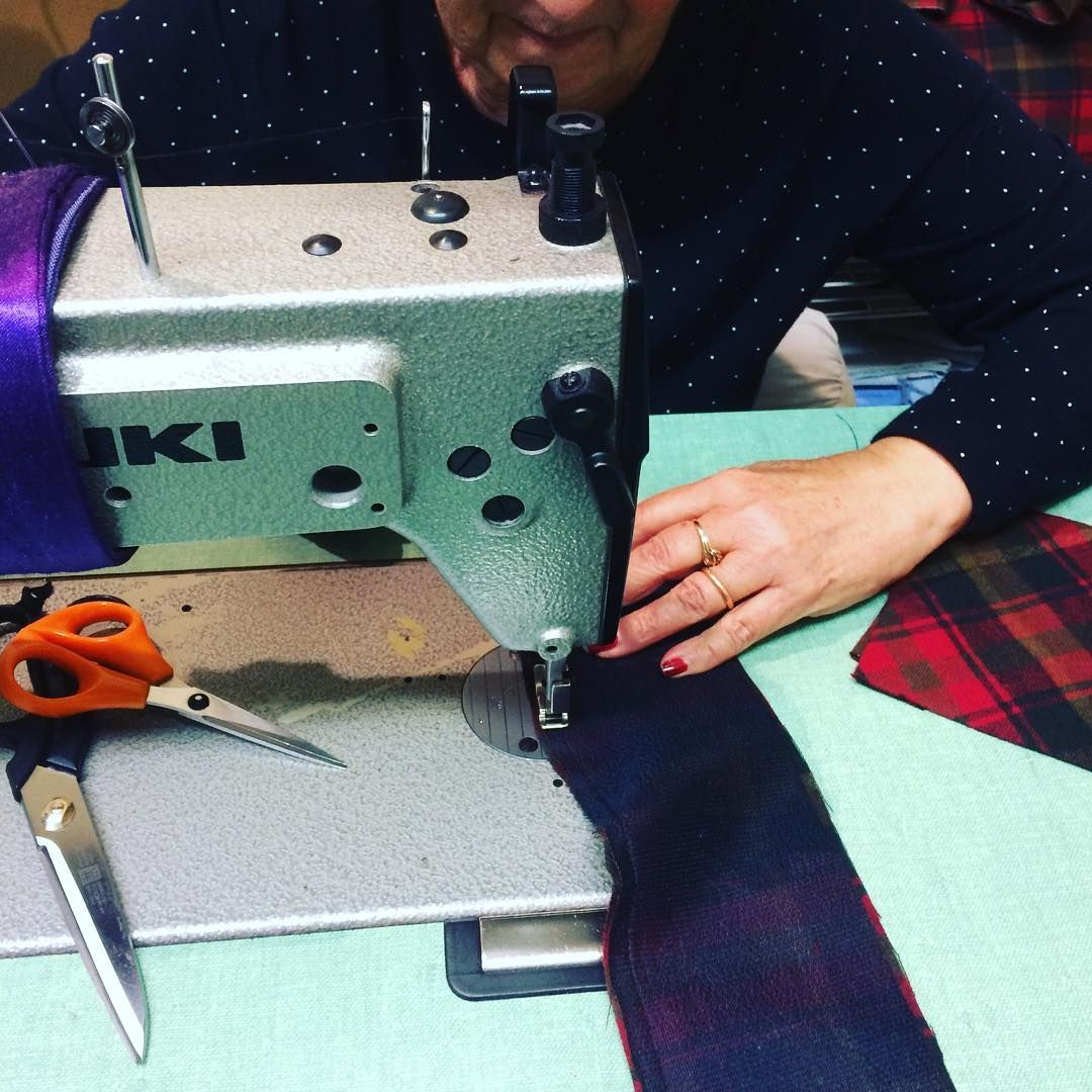 Perfect stitch lines every time. That's our Emilia! For over 18 years Emilia has been at 49th Apparel making pyjamas, and so much more, all with an eye for perfection. It's all in the details!