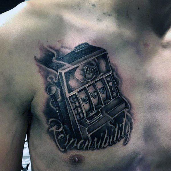 Tattoo slot machine