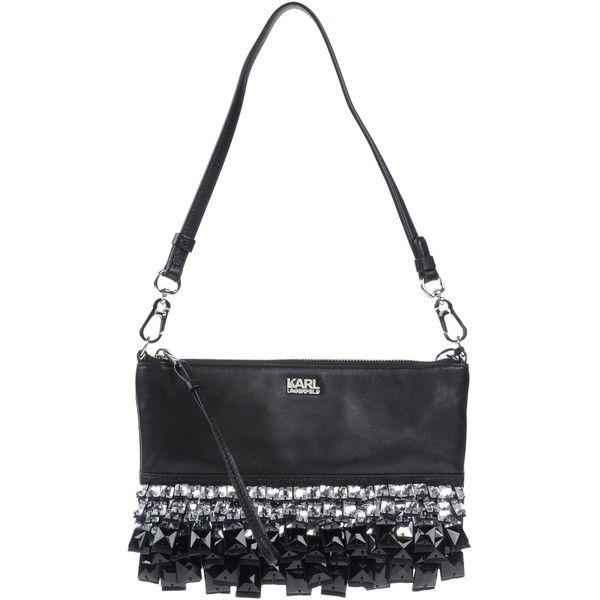 Karl Lagerfeld Handbag (15.170 RUB) ❤ liked on Polyvore featuring bags, handbags, black, handbag purse, karl lagerfeld bags, handle bag, animal purse and handbags bags