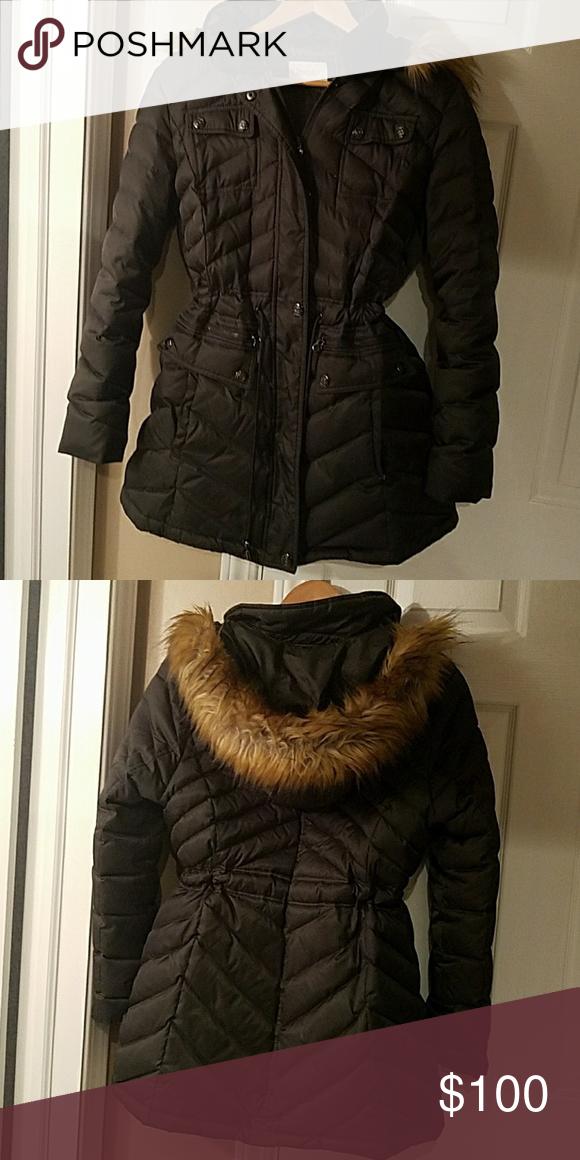 Like New Laundry Winter Jacket Dark Green Laundry Winter Jacket