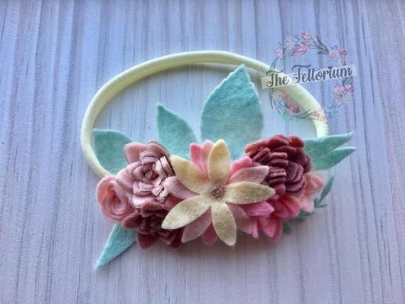 Felt flower headband, felt flower crown, baby hair accessories, floral hairpiece, photo prop, gift for girl, boho, flower girl, bridesmaid #feltflowerheadbands Felt flower headband, felt flower crown, baby hair accessories, floral hairpiece, photo prop, gift f #feltflowerheadbands Felt flower headband, felt flower crown, baby hair accessories, floral hairpiece, photo prop, gift for girl, boho, flower girl, bridesmaid #feltflowerheadbands Felt flower headband, felt flower crown, baby hair accesso #feltflowerheadbands