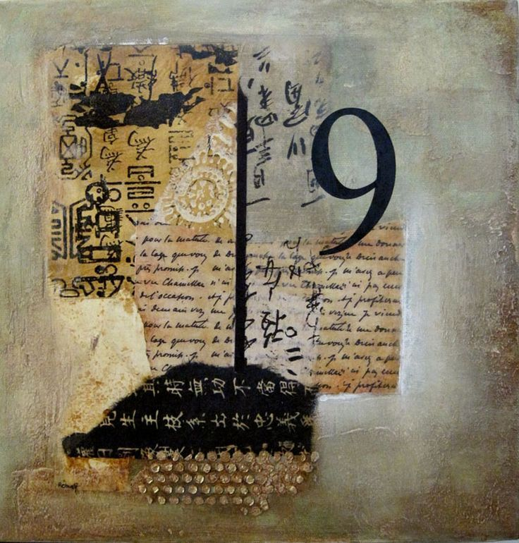 launa d. romoff abstract collage mixed media - galleries  dd988457fcc