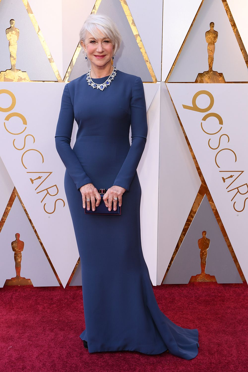 Oscars 2018 Roter Teppich Helen Mirren In Reem Acra At The 2018 Academy Awards 2018 Oscars