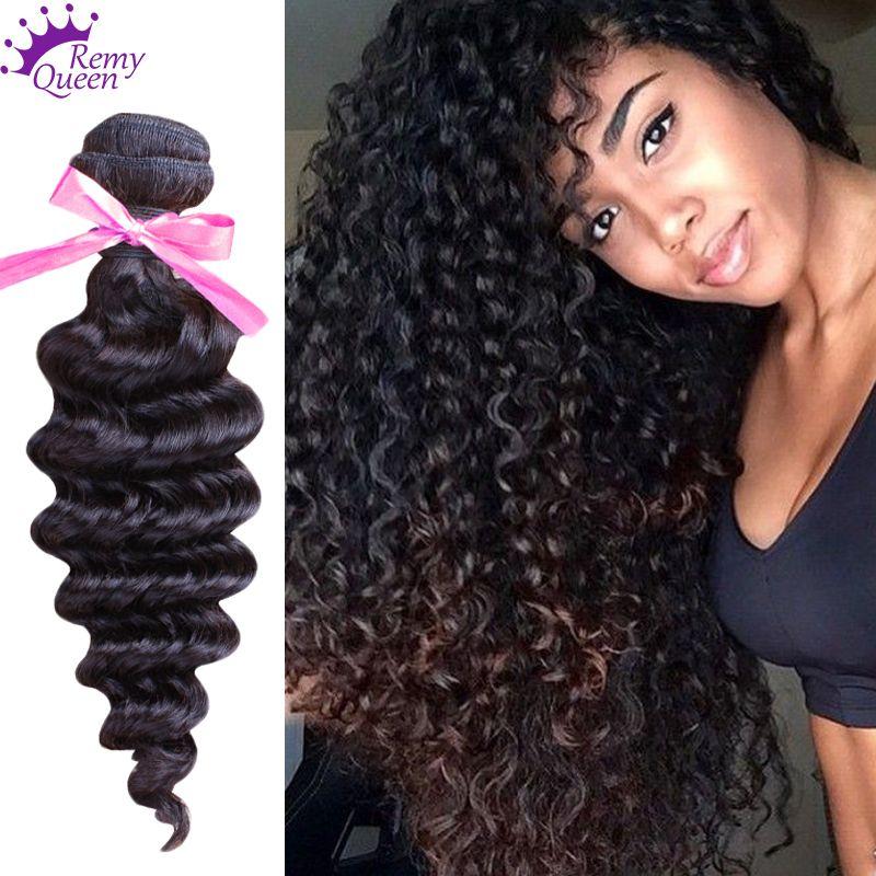 4 Bundles Indian Virgin Hair Deep Wave 8a Unprocessed Curly Virgin