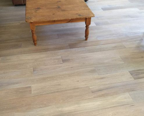 Light Grey Wood Flooring For Living Room