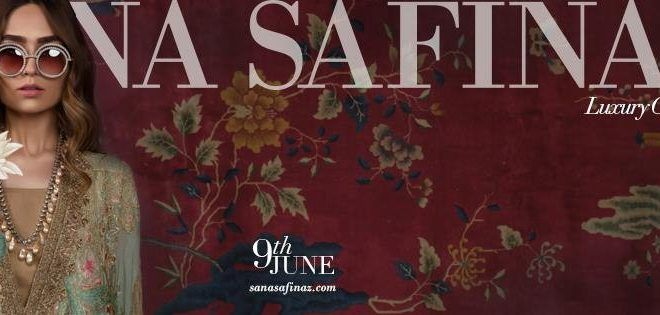 Sana Safinaz New Eid Luxury Collection 2017