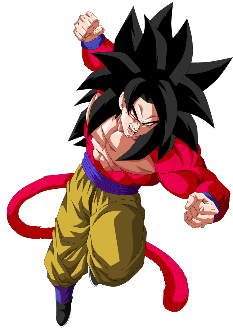 Super Saiyajin 4 By Saodvd Desenhos Dragonball Goku Desenho