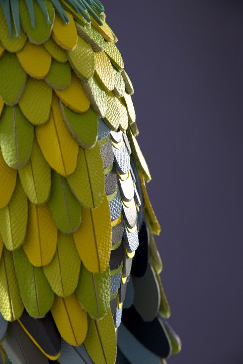Leather Parrot - Hermès by Zim And Zou , via Behance