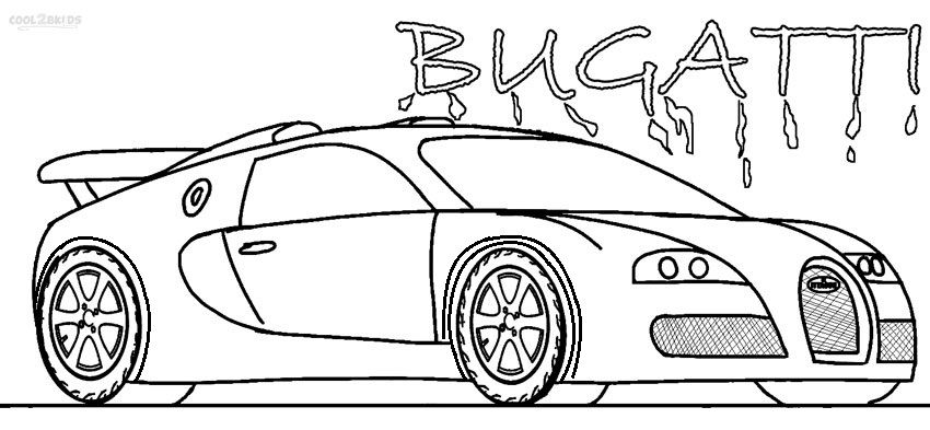 Get The Latest Free Bugatti Coloring Pages Images Favorite To Print Online By ONLY COLORING PAGES