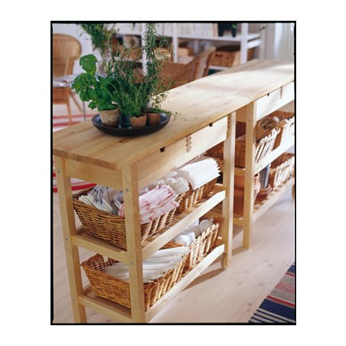 Ikea Koffer förhöja servierwagen birke küche innendesign und koffer