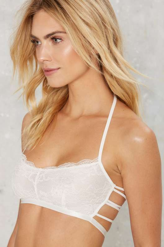 65416360020 Dance For You Strappy Bralette and Thong Set