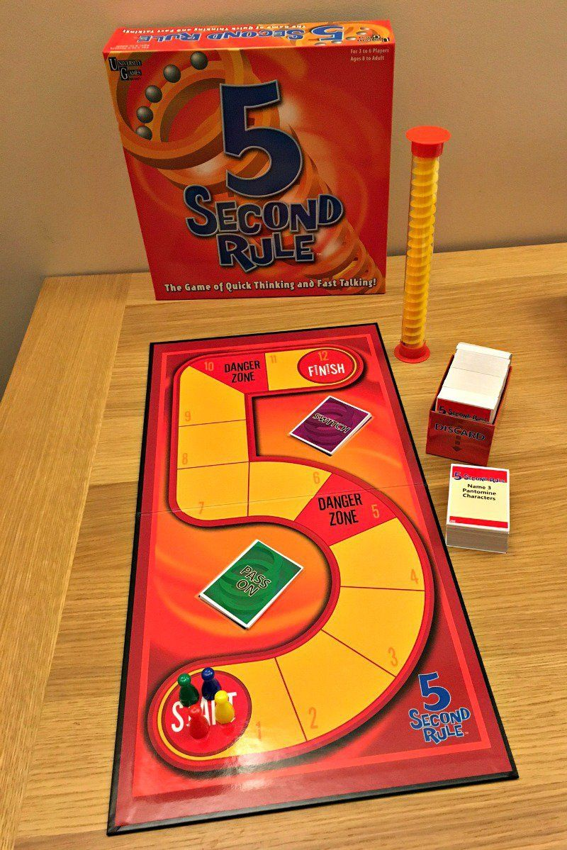 5 Second Rule Board Game Review (With images) Games name