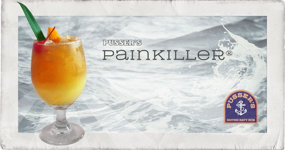 The Infamous PAINKILLER.  When I had it for the first time at Pusser's Landing in Tortola there were 4 levels.  There was a 2 drink MAXIMUM of the Level 4's.  Good stuff, man.  If you're ever there, you should totally go.
