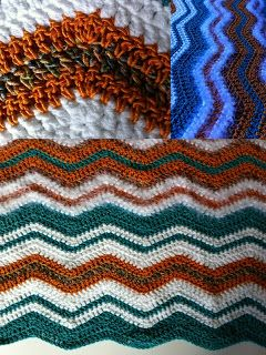 Ripple Pattern Baby Blanket Diy But Only If You Can Do It The