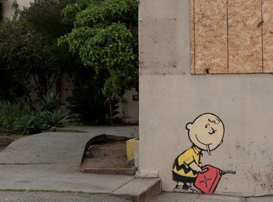 Banksy @ Hollywood, LA