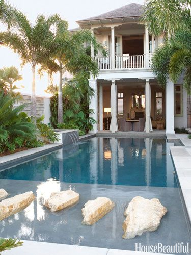 40 Swimming Pools You Ll Want To Lounge In Asap Pool Houses Beautiful Homes Florida Home