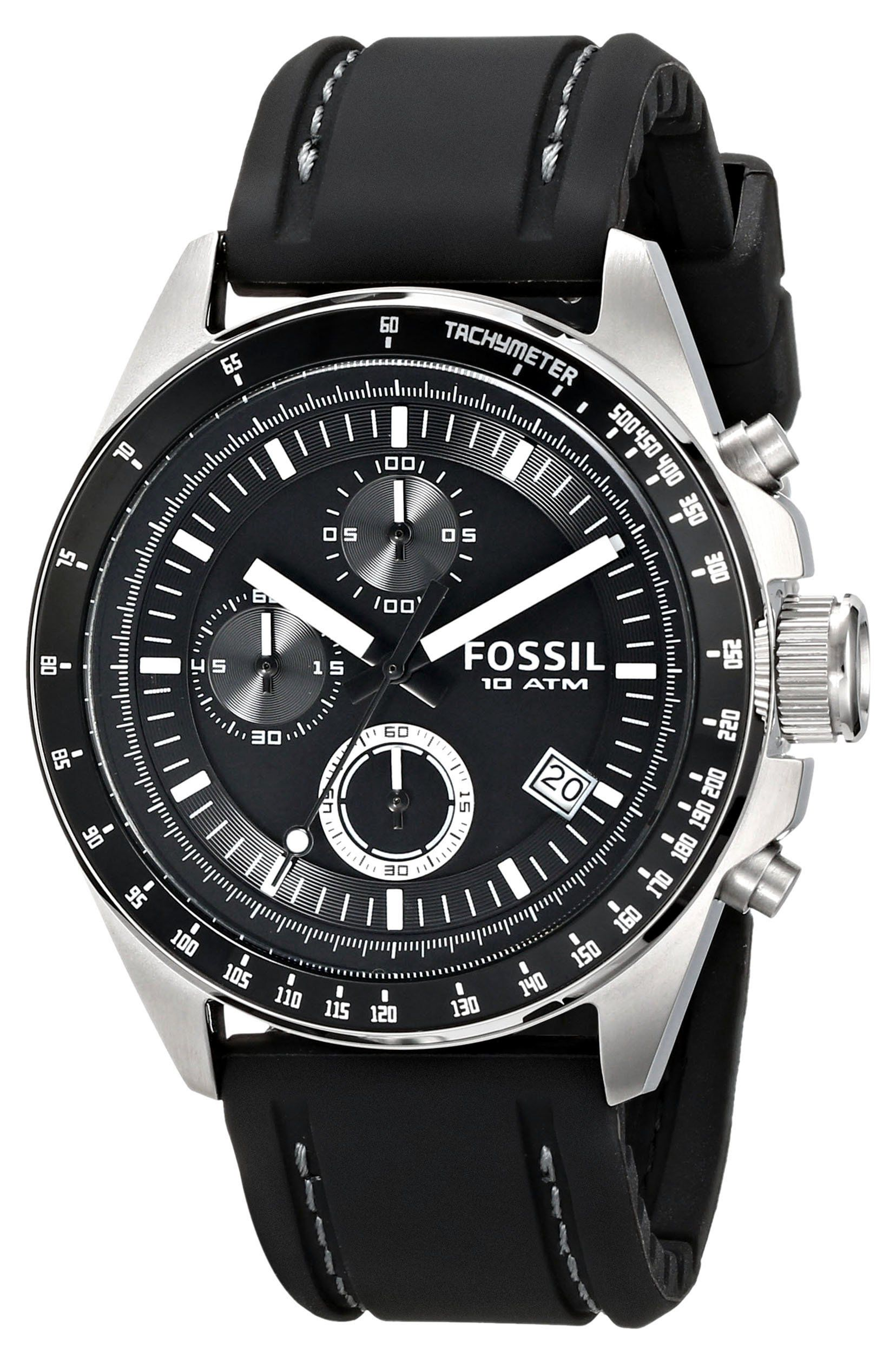 683832e1d196 Fossil CH2573 - Reloj analógico de cuarzo para hombre con correa de piel