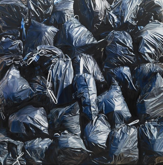 Garbage Paintings by Till Rabus