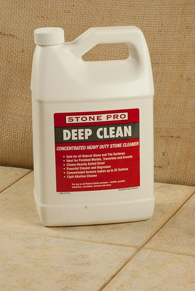 Deep Clean Is A Non Acidic Highly Concentrated Alkaline Cleaner For Polished And Honed Natural Stone Cleaning Hacks Deep Cleaning Deep Cleaning Tips