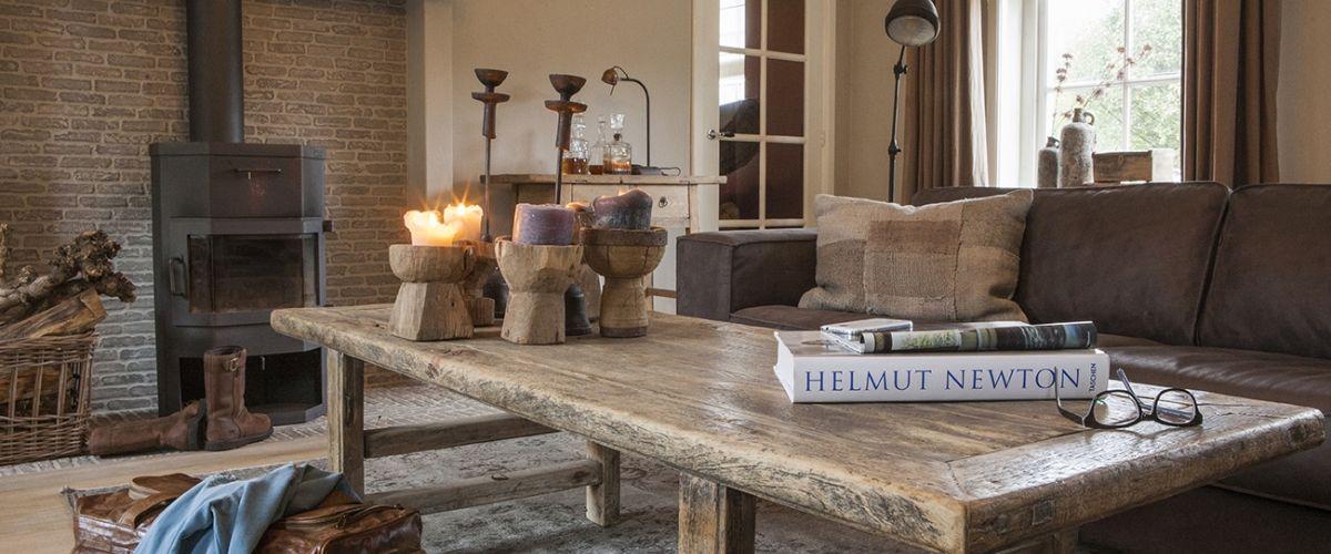 Teak en landelijke meubelen Sfeervolle interieurs | Woonland ...