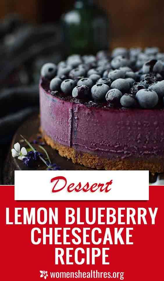Lemon Blueberry Cheesecake Recipe