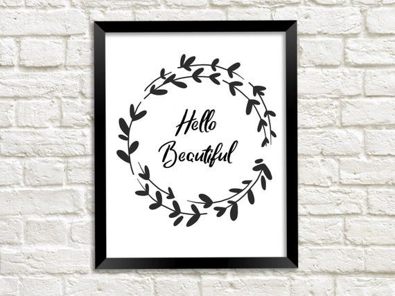 Photo of CUTE FLORAL WREATHS, hand-drawn wreaths, doodle clipart, floral wreaths, rustic, drawn wreaths, png,