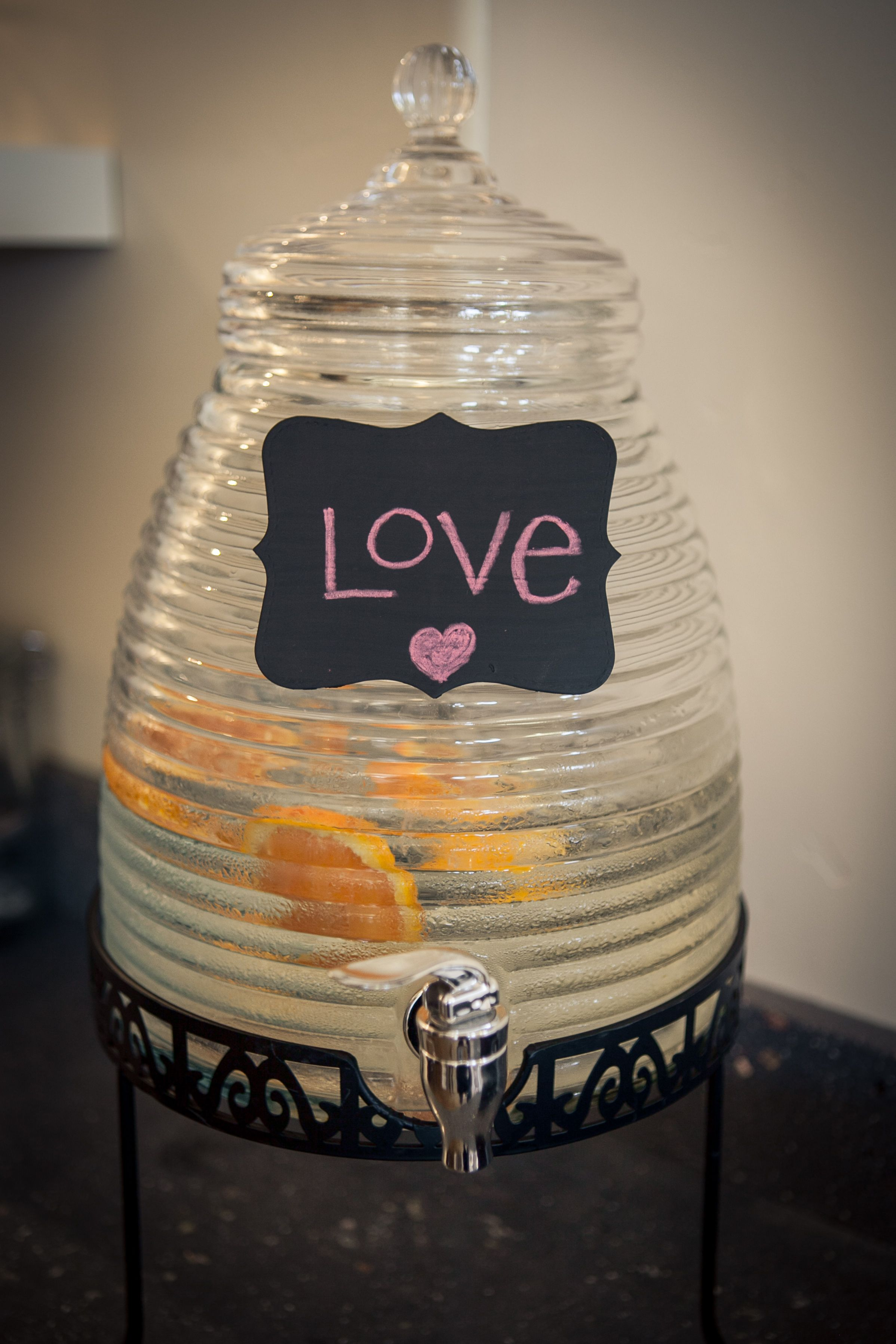 love is all you need...oh, and, fresh orange water ;) hivebeauty.com