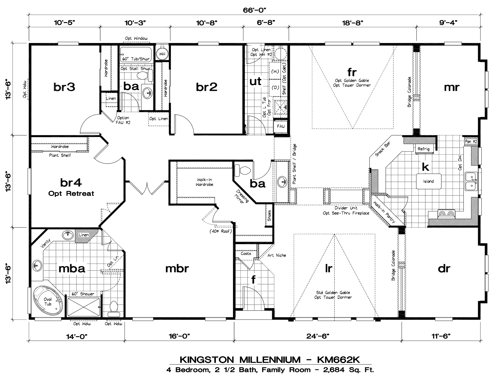Triple wide mobile home floor plans mobile home floor for One level modular homes