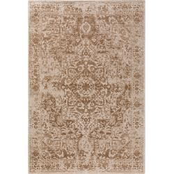 Photo of benuta Trends flat woven carpet Tosca beige 290×400 cm – vintage carpet in used look
