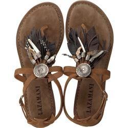 Photo of Lazamani sandals 75.540 cognac women Lazamani