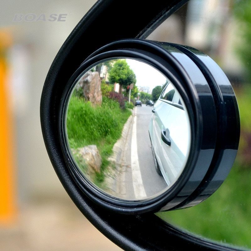 2pcs Lot 3r 035 Auto Rearview Mirror Small Round Mirror Blind Spot Mirror Wide Angle Lens 360 Degrees Adju Blind Spot Mirrors Small Round Mirrors Round Mirrors